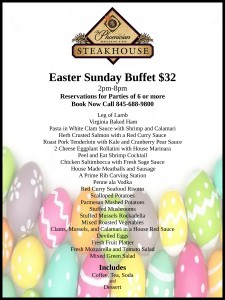 Easter Sunday buffet letter size